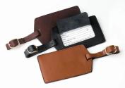 Royce Leather 955-TAN-3 Luggage Tag - Tan