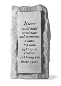 Kay Berry 03220 If Tears Could Build...Single-Tall Votive Holder
