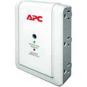 AMERICAN POWER CONVERSION APC ESSENTIAL SURGEARREST 6 OUTLET WALL MOUNT 120V