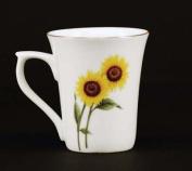 Euland China FL2-003S Set Of Two 350ml Mugs - Sunflowers