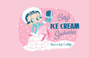 Precious Kids 37102 Betty Boop Canvas Painting-Ice Cream