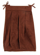 Trend Lab 101492 Brown Ultrasuede - Nappy Stacker