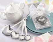 Kate Aspen 13028NA Love Beyond Measure Stainless-Steel Measuring Spoons Baby Shower Favour- Case of 96