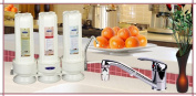 Crystal Quest CQE-CT-00127 Countertop Replaceable Triple Ceramic Plus Water filter System