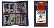 C & I Collectables 2010NYRTS NHL New York Rangers Licenced 2010 Score Team Set and Storage Album