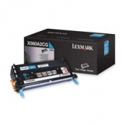 Lexmark International LEXX560A2CG Print Cartridge- 4000 Page Yield- Cyan