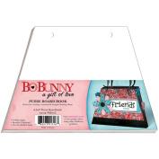 Bo Bunny Purse Board Book 17cm x 23cm -W/6 White Pages