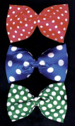 Costumes For All Occasions Bb43Gr Bow Tie Jumbo Polkadot Green