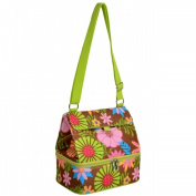 Picnic at Ascot 529-F Lunch Cooler and Container -Floral
