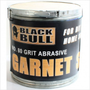 Black bull SBGARN Garnet Sand 80 Grit