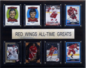 C and I Collectables 1215ATGDRW NHL Detroit Red Wings All-Time Greats Plaque