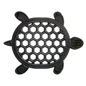 DC MILLS 90021 Renaissance Turtle Rubber Plant Trivet-Stepping Stone 17 X 13.5 Inches
