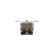 Hubbel Electric Raco Two Gang 4in. Square Box With Bracket 0681