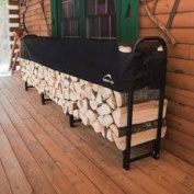 ShelterLogic 90403 12 ft. - 37 m Heavy Duty Firewood Rack with Cover