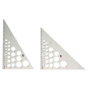 Fairgate AT245-8 20cm . 45-90 Aluminium Triangle