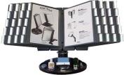 Aidata USA FDS021L-40 Flip & Find Executive Desktop Rotating Reference Organiser