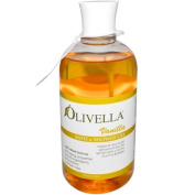 Olivella 0440339 Bath and Shower Gel Vanilla - 16.9 oz
