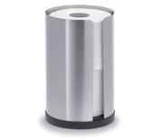 Blomus 68410 stainless steel matt toilet roll holder for 2 rolls