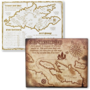 BuySeasons 173728 Pirates Acivity Placemats