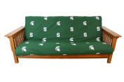 College Covers MSUFC Michigan State Futon Cover- Full Size fits 8 and 10 inch mats