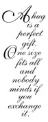 Penny Black 485579 Penny Black Rubber Stamp 5.1cm . x 9.5cm . -Perfect Gift