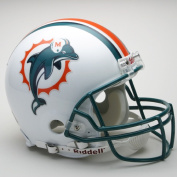 Victory Collectibles 30120 Rfa Miami - Dolphins Full Size Authentic Helmet