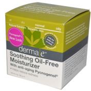 Soothing Oil-Free Moisturiser With anti-ageing Pycnogenol Derma-E 60ml Gel