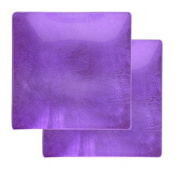 Creative Gifts International 807343 Condi Dishes Pair of Purple