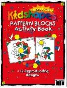 Barker Creek LM-B231 Learning Magnets - KidUSA Kidshapes Pattern Blocks Activity Book
