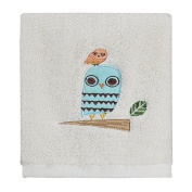 Creative Bath TP1070WMULT Give A Hoot Owl Printed Wash Cloth