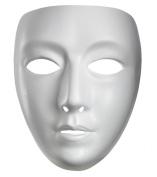 Blank Female Mask Halloween Accessory