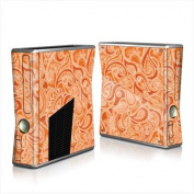 DecalGirl X360S-PAISORN Xbox 360 S Skin - Paisley In Orange