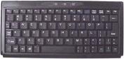 Solidtek KB-P3100BU Super Mini Keyboard 77 Keys Black USB