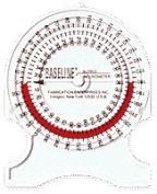 Fabrication Enterprises FAB122 Baseline Bubble Inclinometer