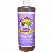 Dr. Woods Pure Black Soap, 32 fl oz (944 ml) by ClubNatural