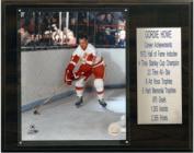 C & I Collectables 1215HOWEST NHL Gordie Howe Detroit Red Wings Career Stat Plaque