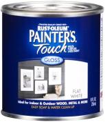 Rustoleum .50 Pint Flat White Painters Touch Multi-Purpose Paint 1990-730