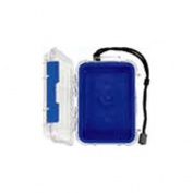 Pelican 1020-026-100 Blue Micro Case with Clear Lid and Carabineer