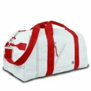 Sailor Bags 209-R Lg. Sq. Duffel Red