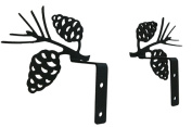 Village Wrought Iron CUR-S-89 Pinecone Swags