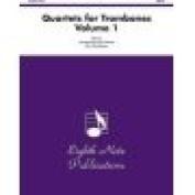 Alfred 81-TQ976 Quartets for Trombones- Volume 1 - Music Book