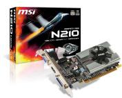 MSI Video GeForce 210 1GB DDR3 PCI Express x16 2.0 DVI/HDMI Graphics Card