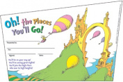 Eureka EU-843197 Seuss-Oh The Places Youll Go Recognition Awards