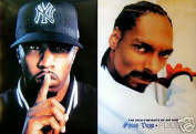 Hot Stuff Enterprise 4031-24x36-HH Snoop Dogg Diddy Poster