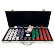 650 13 gm Pro Clay Casino Chips with Aluminium Case