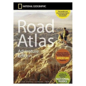 National Geographic Maps RD00620166 Road Atlas - Adventure Edition- USA