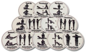 Olympia Sports GE690P Set of 12 Hot Spots- Partners Spots