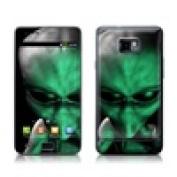DecalGirl SGS2-ABD-GRN for Samsung Galaxy S II Skin - Abduction
