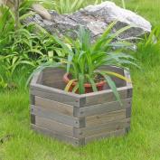 Elegant Home Fashions GB1607 6-Sided Garden Barrel - 16 Inch