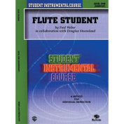 Alfred 00-BIC00101A Student Instrumental Course- Flute Student- Level I - Music Book